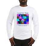 Laughter Yoga LAUGH/SNORE Blue Unisex Long TShirt