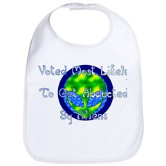 Get Abducted By Aliens Bib