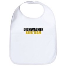 Dishwasher Beer Team Bib