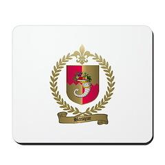 BASQUE Family Crest Mousepad