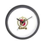 BASQUE Family Crest Wall Clock