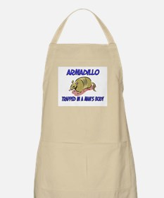 Armadillo Trapped In A Man's Body BBQ Apron