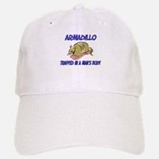 Armadillo Trapped In A Man's Body Baseball Baseball Cap