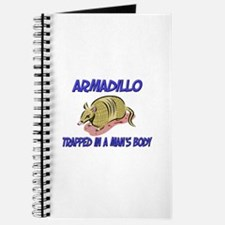 Armadillo Trapped In A Man's Body Journal