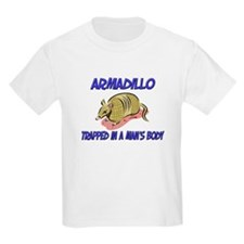 Armadillo Trapped In A Man's Body T-Shirt