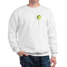 green apple Sweatshirt