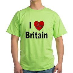 I Love Britain T-Shirt