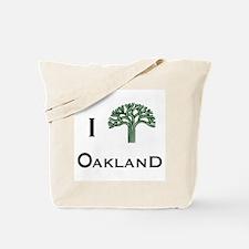 Unique Oakland tree Tote Bag