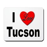 I Love Tucson Arizona Mousepad