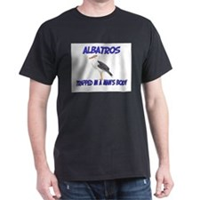 Albatros Trapped In A Man's Body T-Shirt