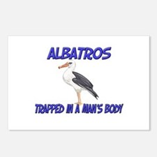 Albatros Trapped In A Man's Body Postcards (Packag