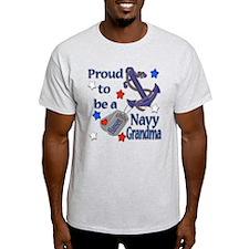 Peggy's Custom Navy Grandma T-Shirt