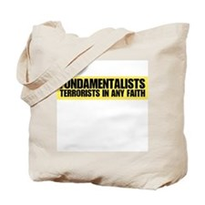 Fundamentalists, terrorists i Tote Bag