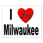 I Love Milwaukee Wisconsin Small Poster
