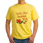 Sensational Wife Yellow T-Shirt