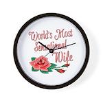 Sensational Wife Wall Clock