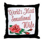 Sensational Wife Throw Pillow