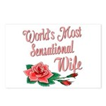 Sensational Wife Postcards (Package of 8)