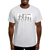 Ass family Mens Light T-shirts