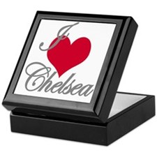 I love (heart) Chelsea Keepsake Box