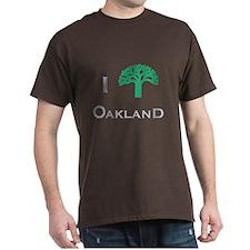 I (Tree) Oakland T-Shirt
