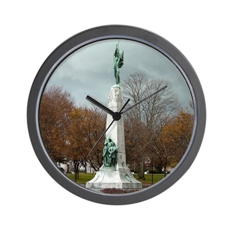 Manchester NH Victory Monument Wall Clock