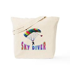 Sky Diver Tote Bag