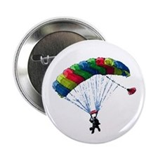 """Sky Diver 2.25"""" Button (10 pack)"""