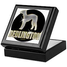 Bling Bedlington Keepsake Box