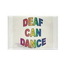 DEAF CAN DANCE Rectangle Magnet (10 pack)