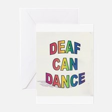 DEAF CAN DANCE Greeting Cards (Pk of 20)
