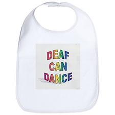 DEAF CAN DANCE Bib