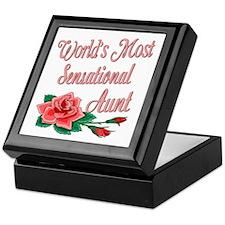 Sensational Aunts Keepsake Box