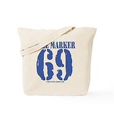 Mile Marker 69 Tote Bag