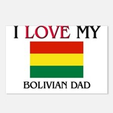 I Love My Bolivian Dad Postcards (Package of 8)