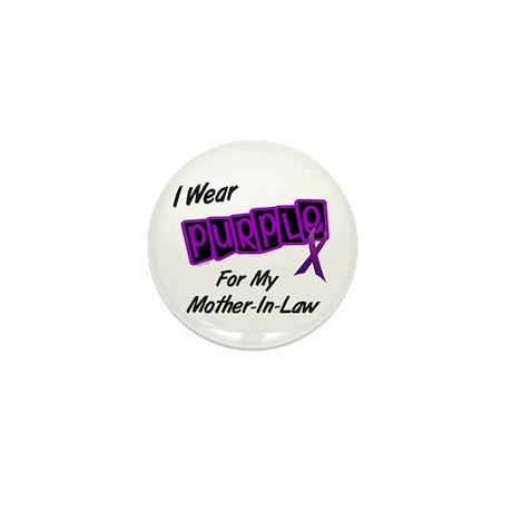 I Wear Purple 8 (Mother-In-Law) Mini Button