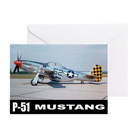 P-51D Mustang Greeting Cards (Pk of 10)
