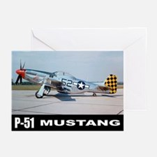 P-51D Mustang Greeting Cards (Pk of 10)