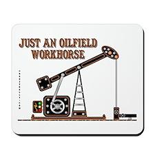 Oilfield Workhorse Mousepad
