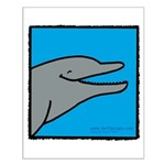 Dolphin Poster - Small