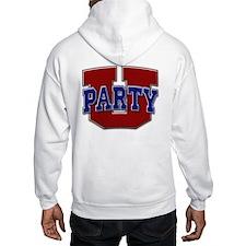 Party U/(Red/Blue Logo) Hoodie
