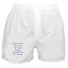 Confucius Says Prunes Boxer Shorts