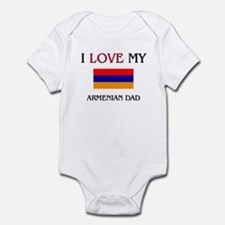I Love My Armenian Dad Infant Bodysuit