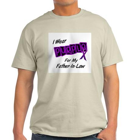 I Wear Purple 8 (Father-In-Law) Light T-Shirt