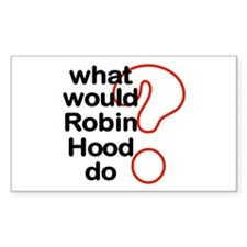 Robin Hood Rectangle Decal