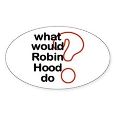 Robin Hood Oval Decal