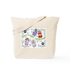 BELIEVE IN ANGELS Tote Bag