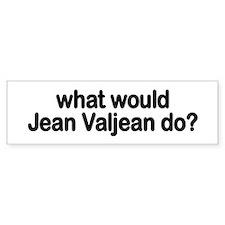 Jean Valjean Bumper Bumper Sticker