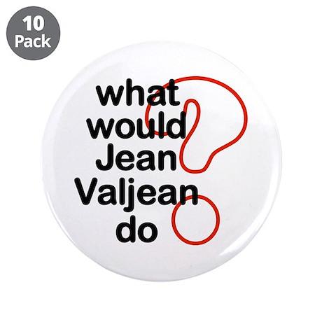 """Jean Valjean 3.5"""" Button (10 pack)"""