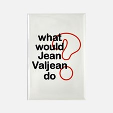 Jean Valjean Rectangle Magnet